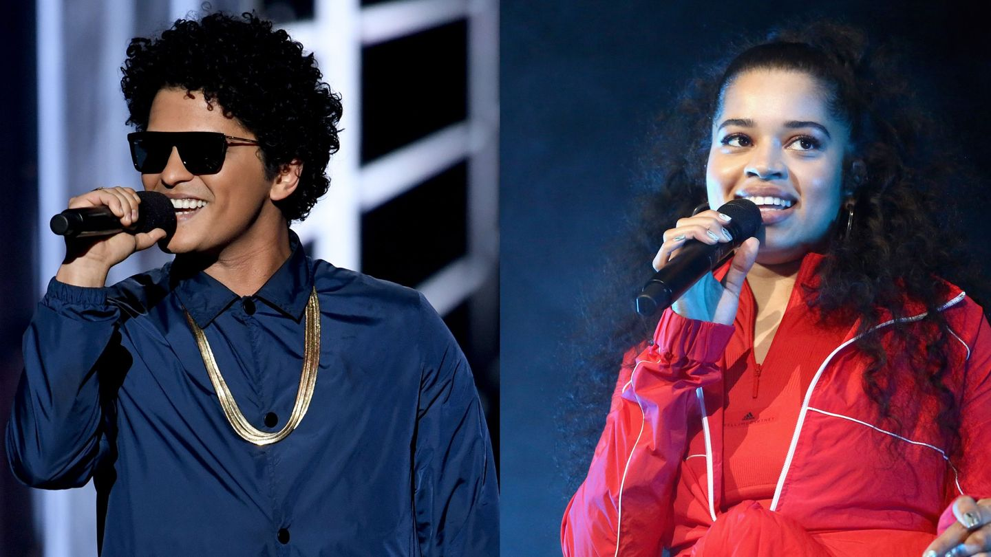 Bruno Mars And Ella Mai Are All Boo'd Up For His '24K Magic' Tour