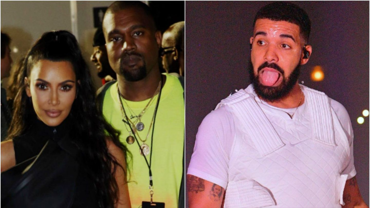Kanye West Calls Out Drake In Defense Of Kim Kardashian: 'Don't ...