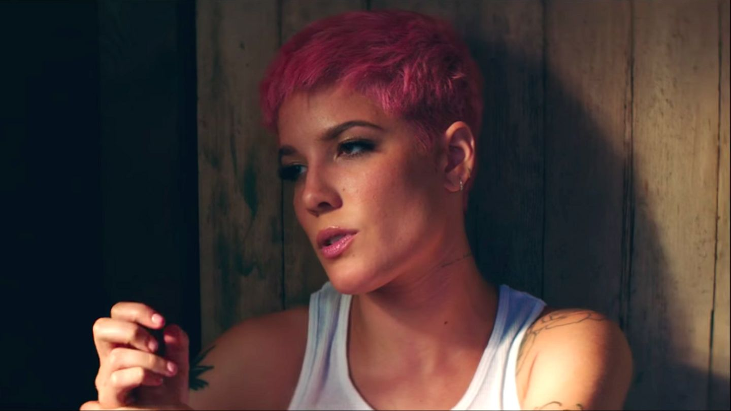 High Quality Halsey Hqhaisey: Halsey's Heartbreaking 'Without Me' Video Stars A True G