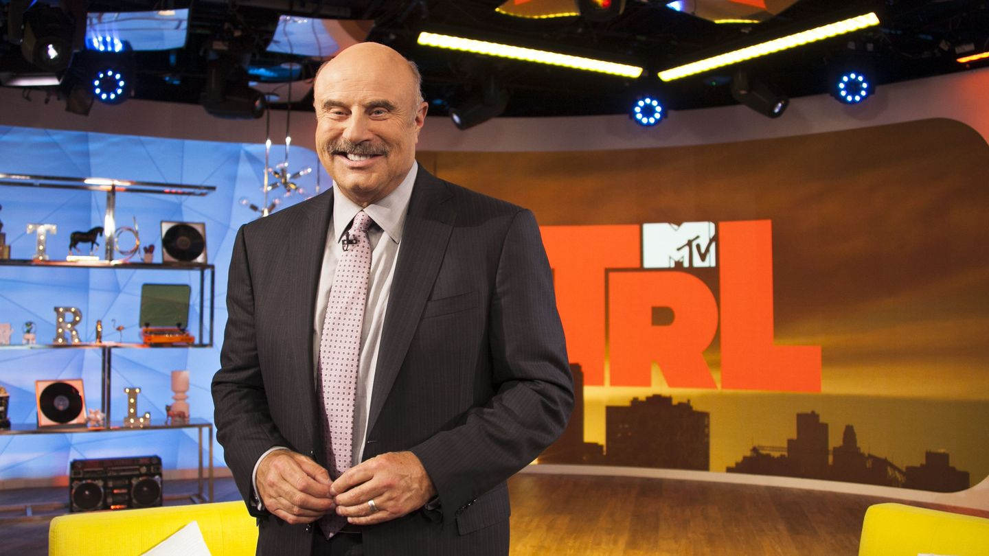 Dr. Phil Explained His Mission To End Cyberbullying On 'trl'