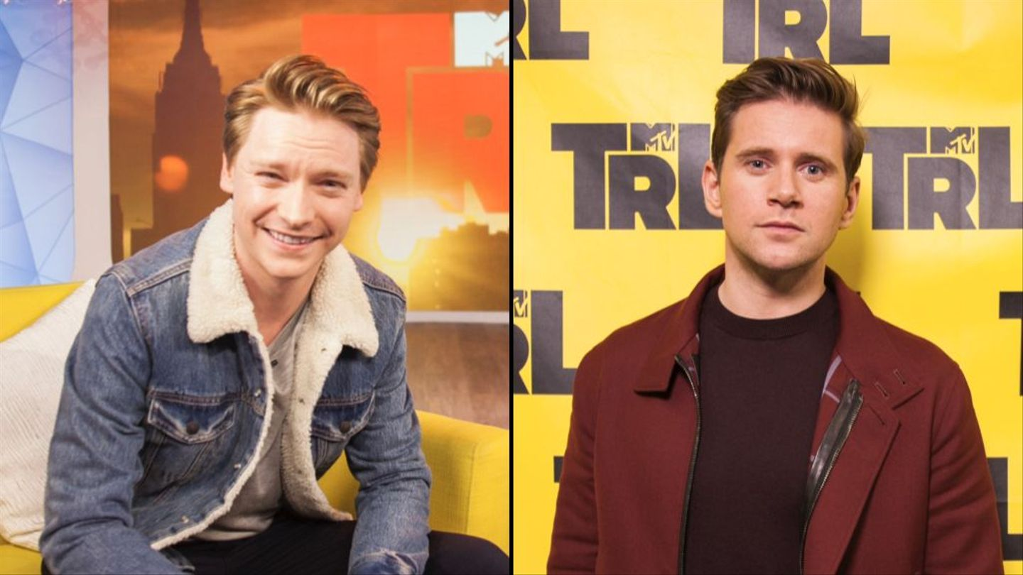 Calum Worthy And Allen Leech Preview Their Two Musical Movies On 'trl'