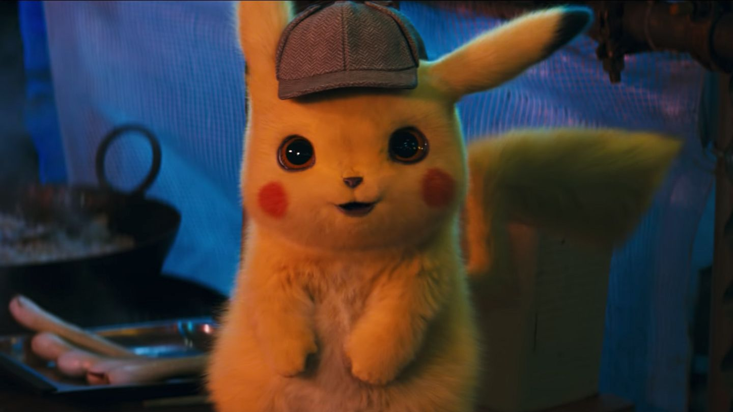 First Detective Pikachu Trailer Brings Your Favorite Pokémon To Life