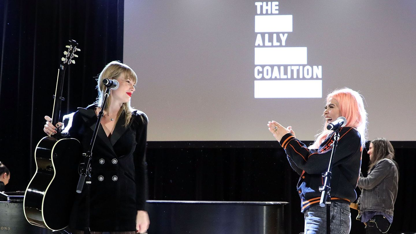 Taylor Swift And Hayley Kiyoko Team Up On A Surprise Stripped-down 'delicate'