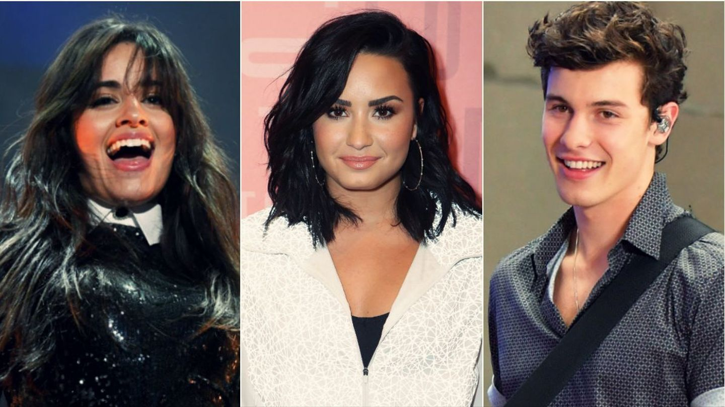 See How Demi Lovato, Shawn Mendes, And More Are Basking In Their Golden Grammy Nods