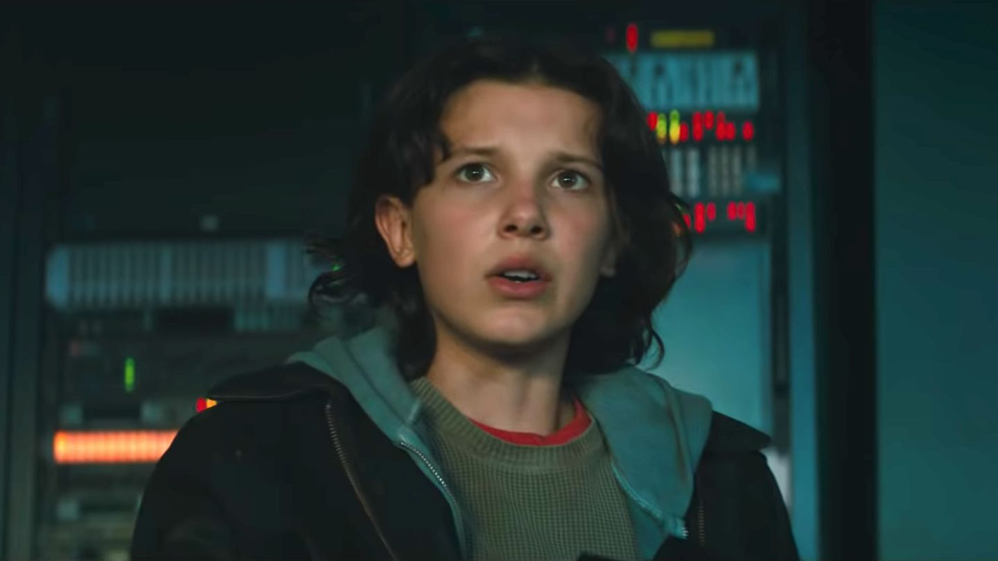 Image result for millie bobby brown godzilla