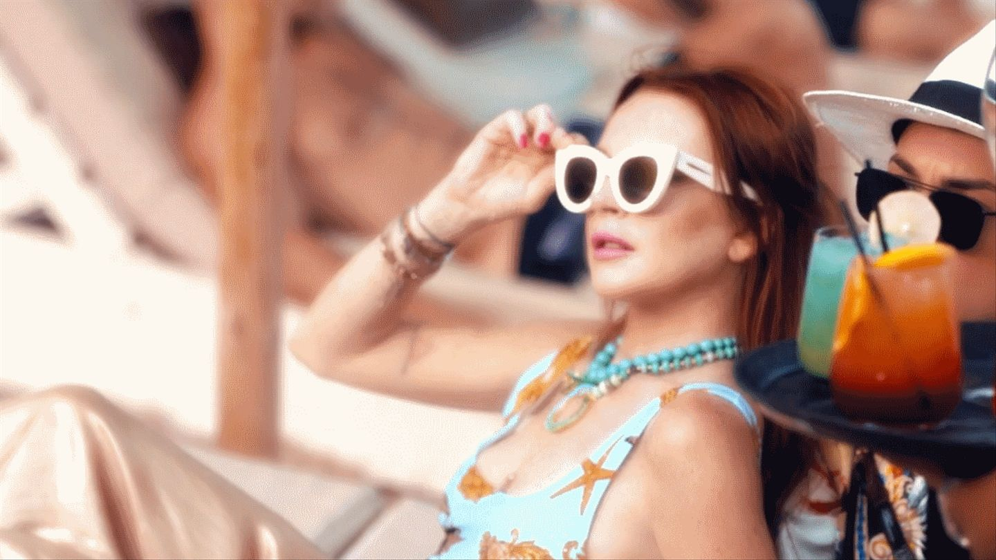First Look: Lindsay Lohan Is Going To Do Things 'Differently' At Her Beach Club