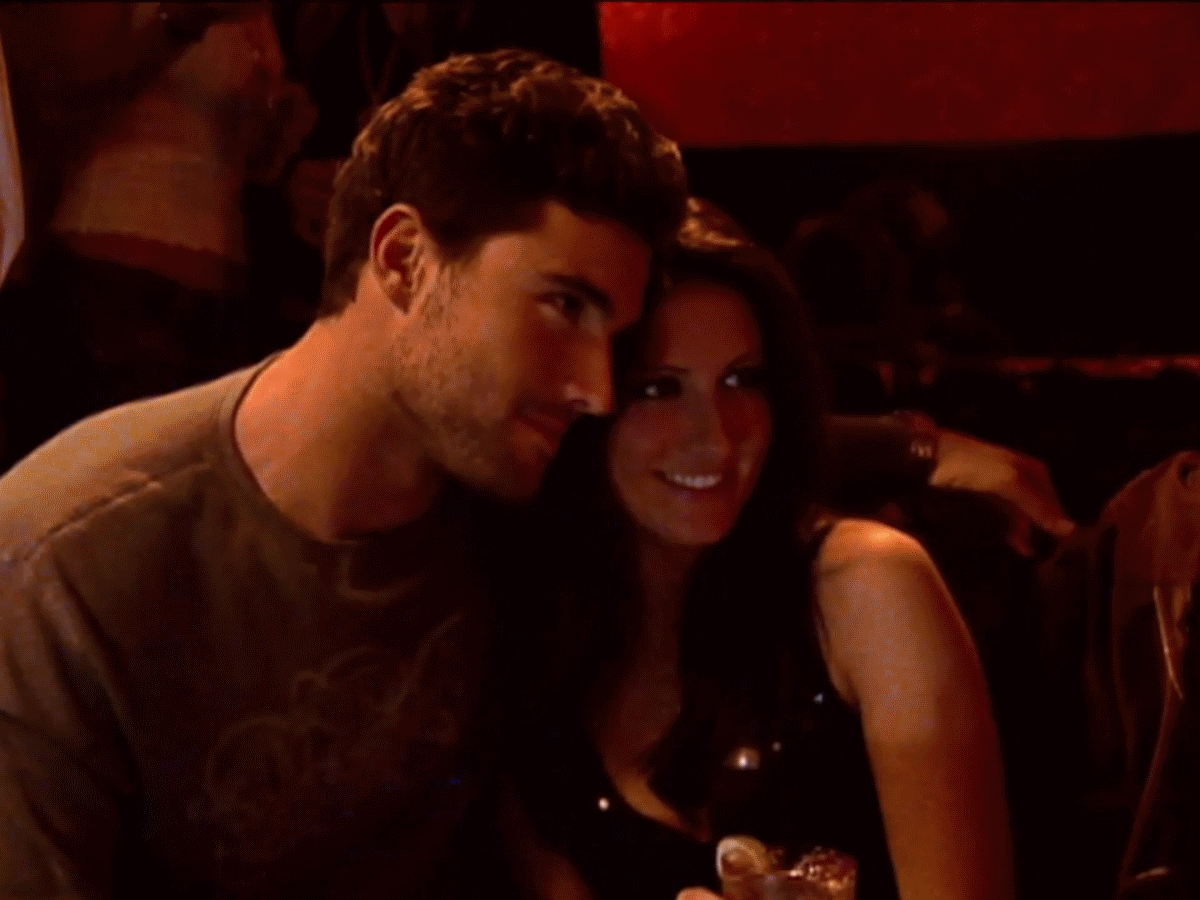 Who was brody dating at the end of the hills