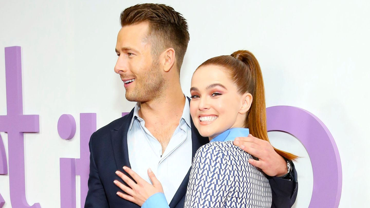 Zoey Deutch And Glen Powell Had A Set It Up Reunion While You Were Watching The Golden Globes