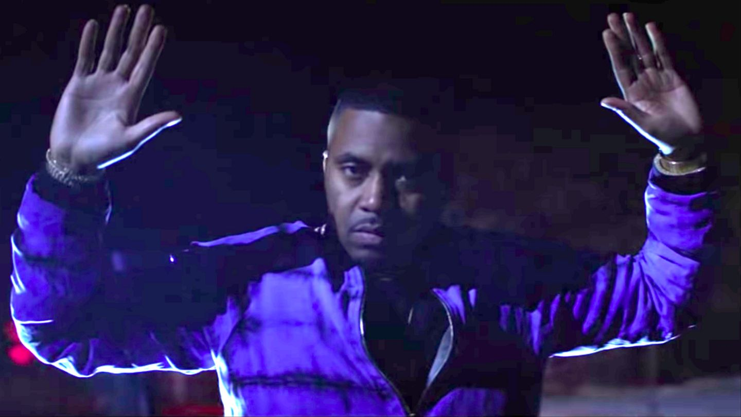 Nas Protests Police Brutality With Chilling 'cops Shot The Kid' Video With Kanye
