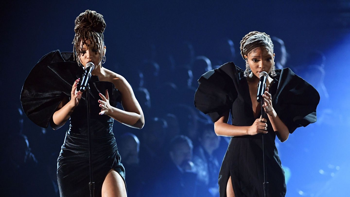 Chloe X Halle Sounded As Perfect As Ever During Grammys Donny Hathaway Tribute