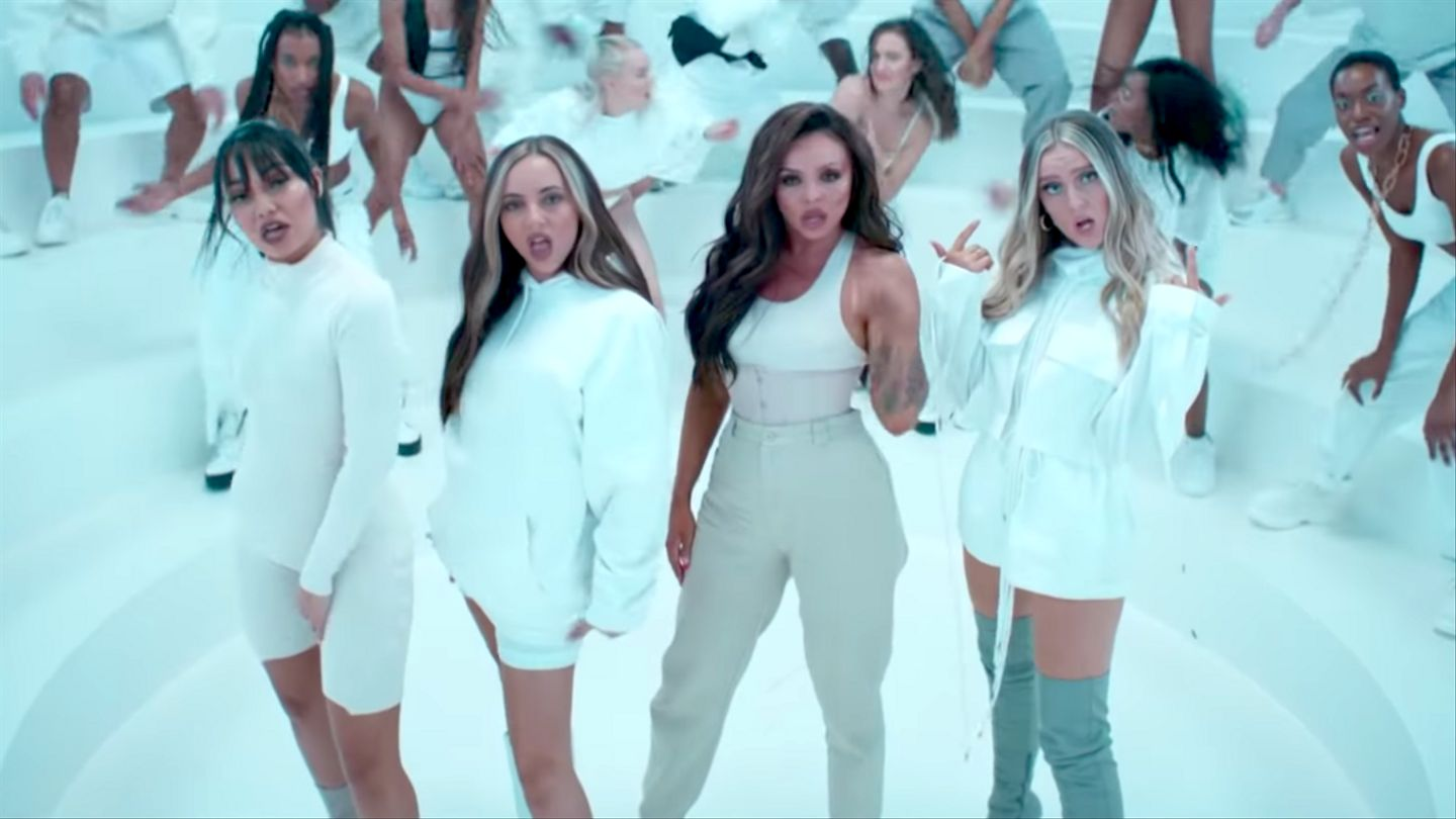 Little Mix's 'Think About Us' Video Stars Butterflies, Shirtless Dudes, And Ty Dolla $ign