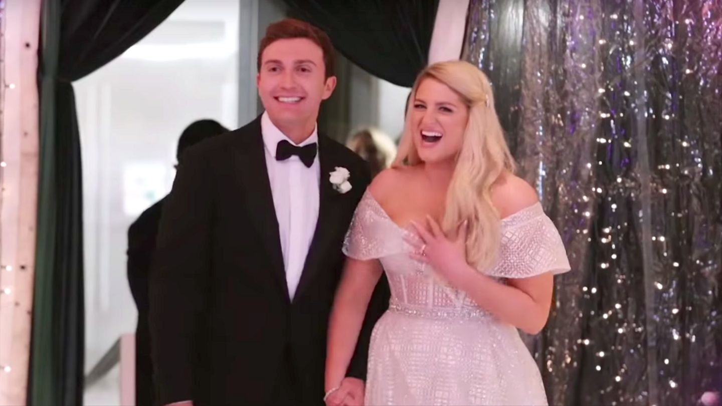 Meghan Trainor Used Her Real Wedding Footage For New 'Marry Me' Video