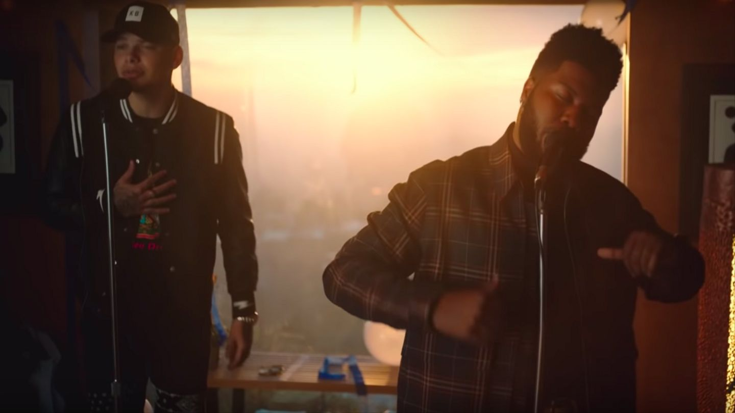 Khalid And Kane Brown Have Permanent Sad Faces In 'Saturday Nights (Remix)' Video