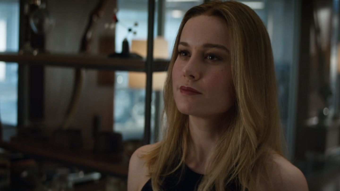 Captain Marvel Is Here To Support The Team In New Avengers: Endgame Trailer