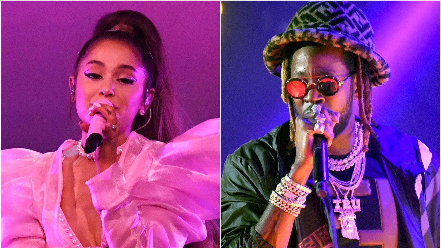 Ariana Grande And 2 Chainz Performed Together For The First Time And 'It Was Lit!'(Video)