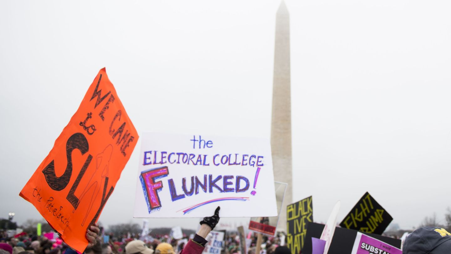 More And More Young Voters Want To Abolish The Electoral College