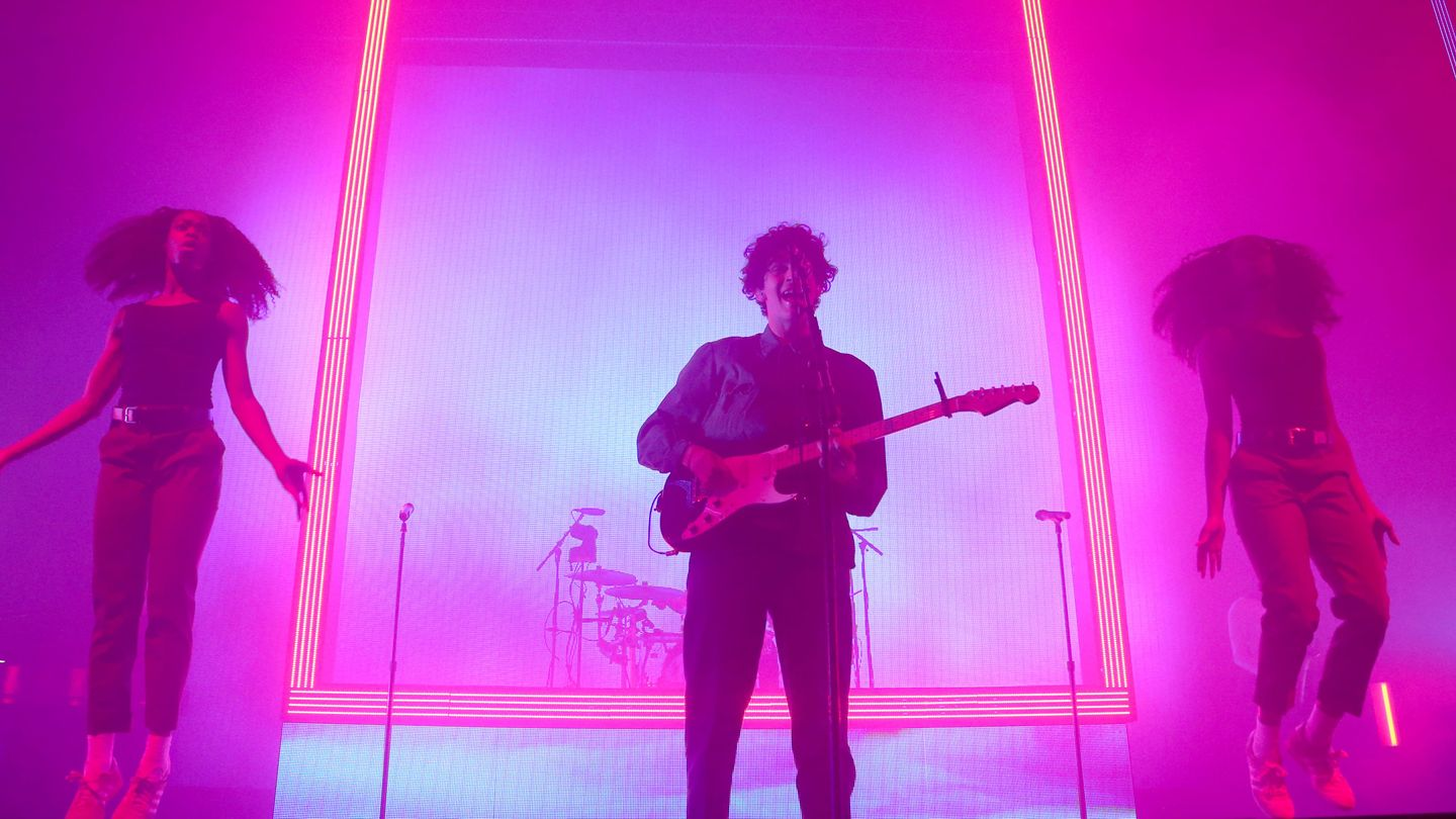 The 1975 Tease New Album And Give A Cheery Performance On Corden