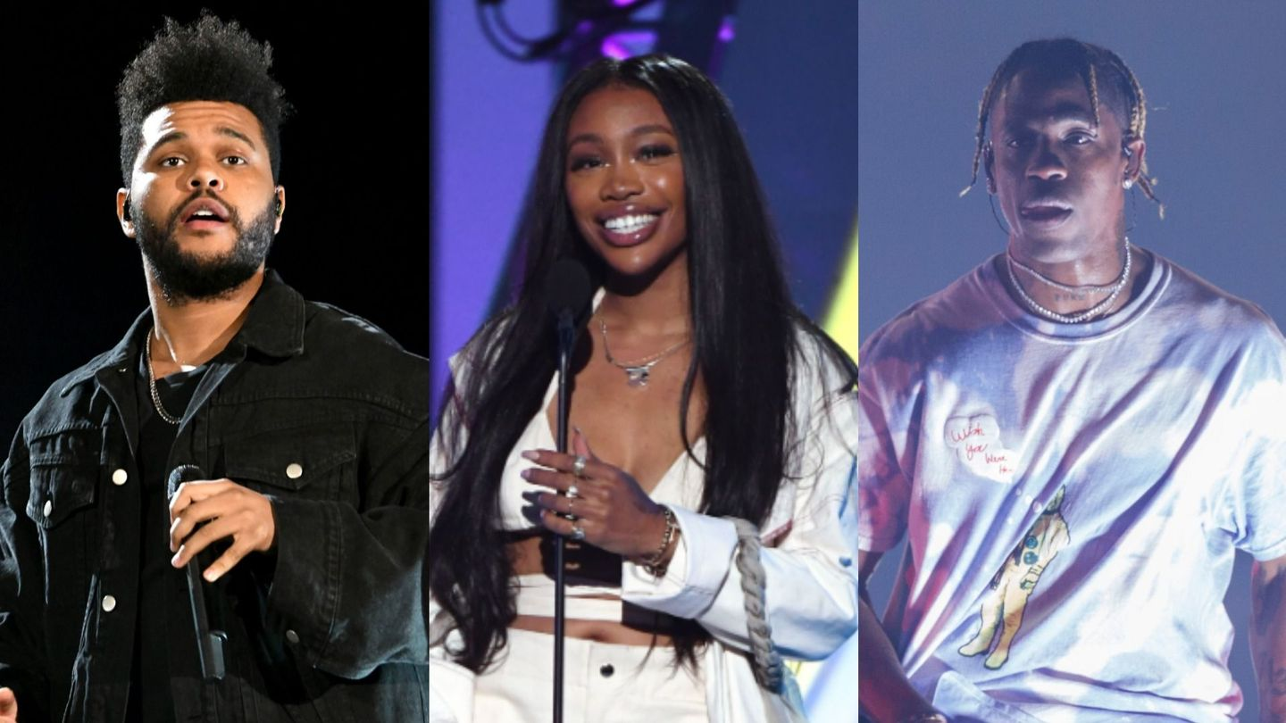 The Weekend, SZA, And Travis Scott Are Game Of Thrones' Big Three In 'Power Is Power'