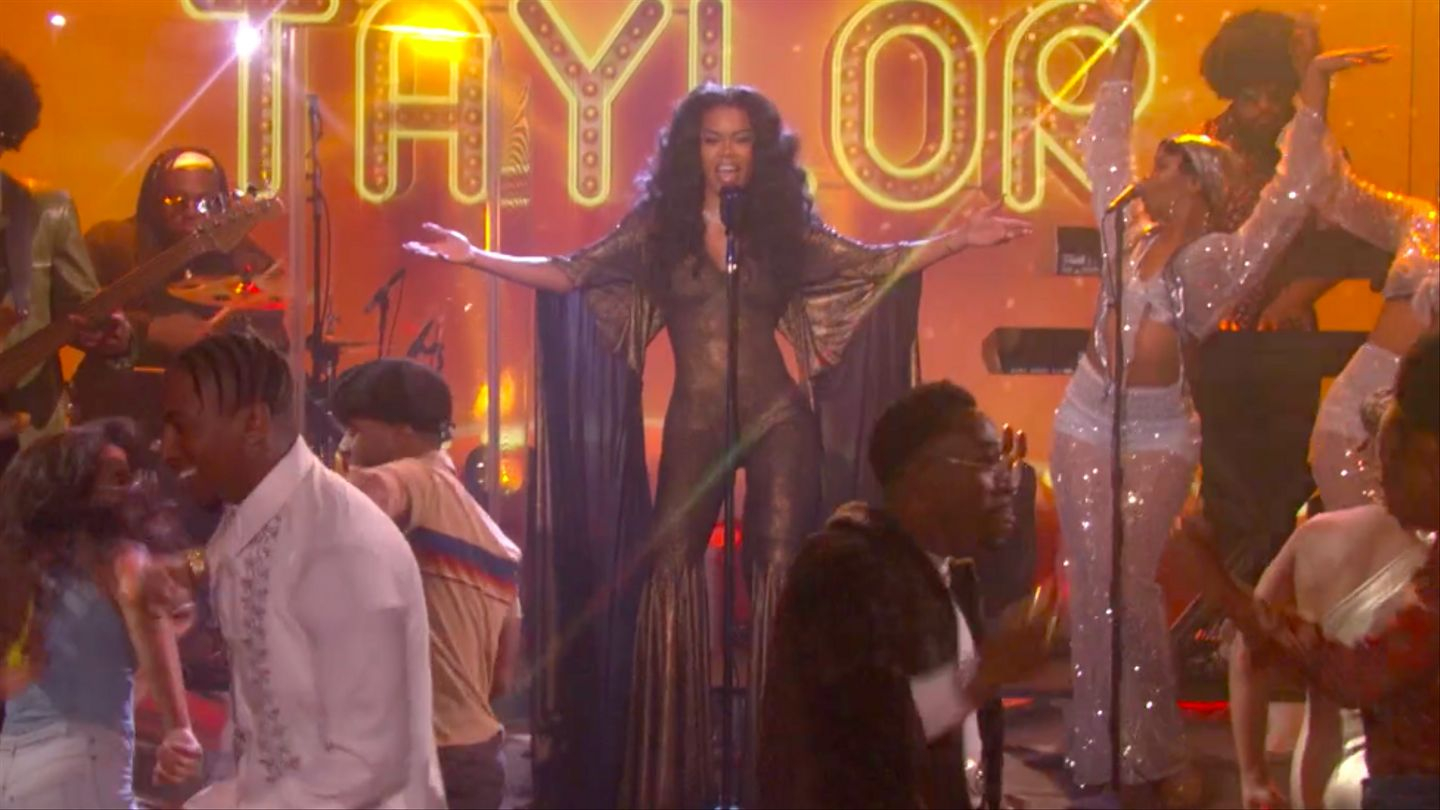 Teyana Taylor Brought The Soul Train Experience To Ellen