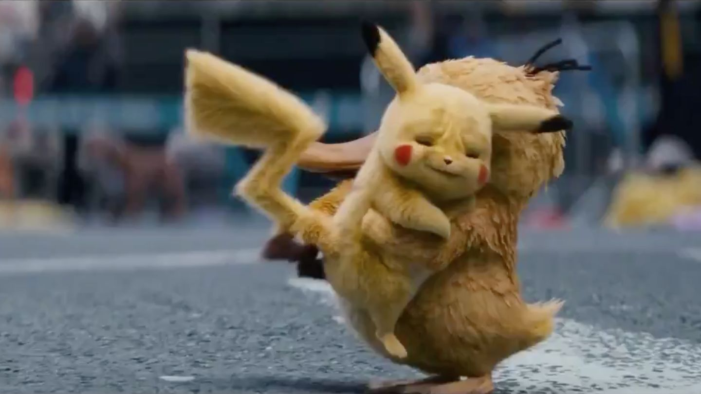 This New Detective Pikachu Trailer Is Too Pure For This World