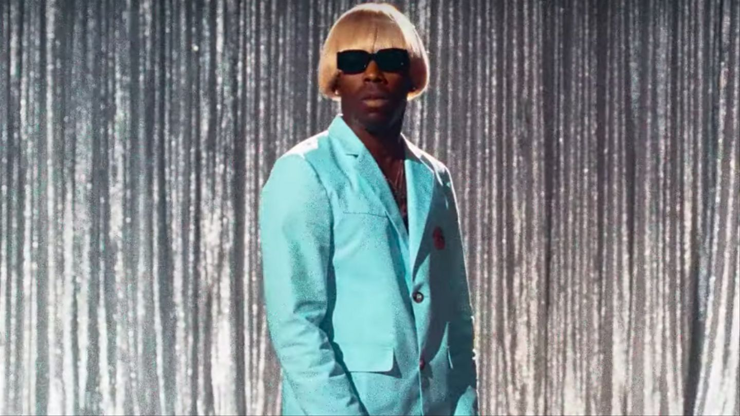 Tyler, The Creator Burns Down A Talk Show Stage In 'Earfquake' Video