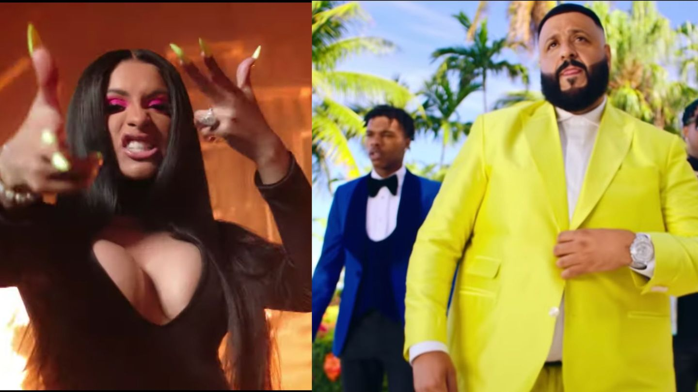 DJ Khaled Gives The Spotlight Over To Cardi B And Salt Bae In Explosive New Videos