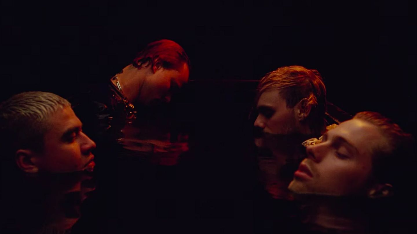 5 Seconds Of Summer Battle Cave Water And Burning Portraits In 'Easier' Video