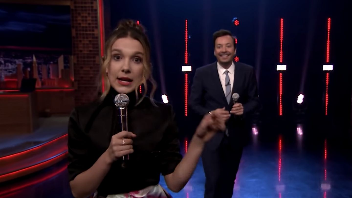 Millie Bobby Brown Slays Lizzo And Lorde In Jimmy Fallon Beat Battle