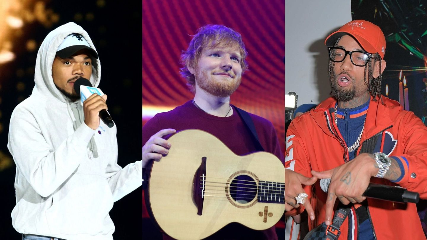 Ed Sheeran, Chance The Rapper, And PnB Rock Are Defenders Of Love On 'Cross Me'