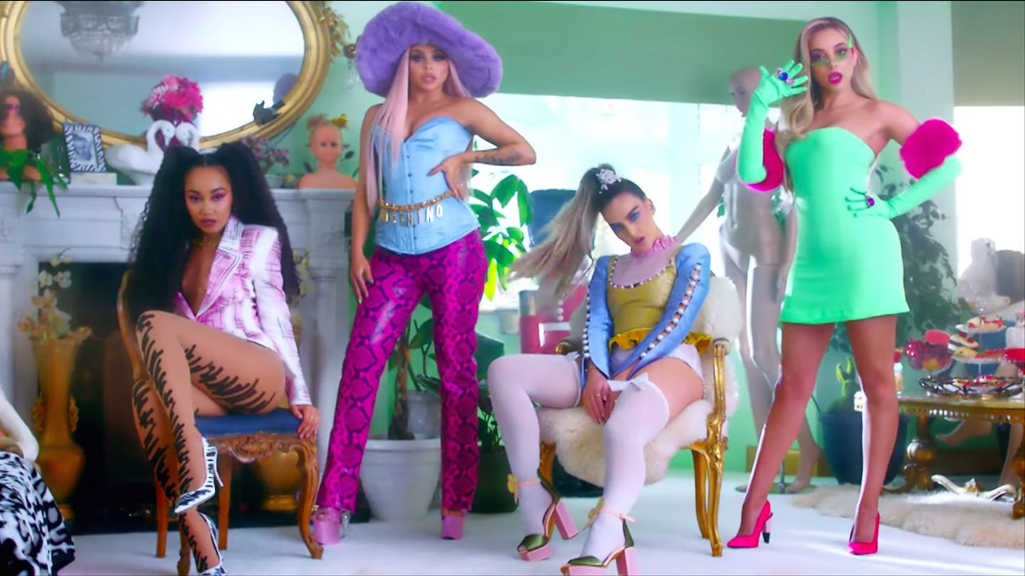 Little Mix Are Twerking Dolls In Their Instantly Iconic 'Bounce Back' Video