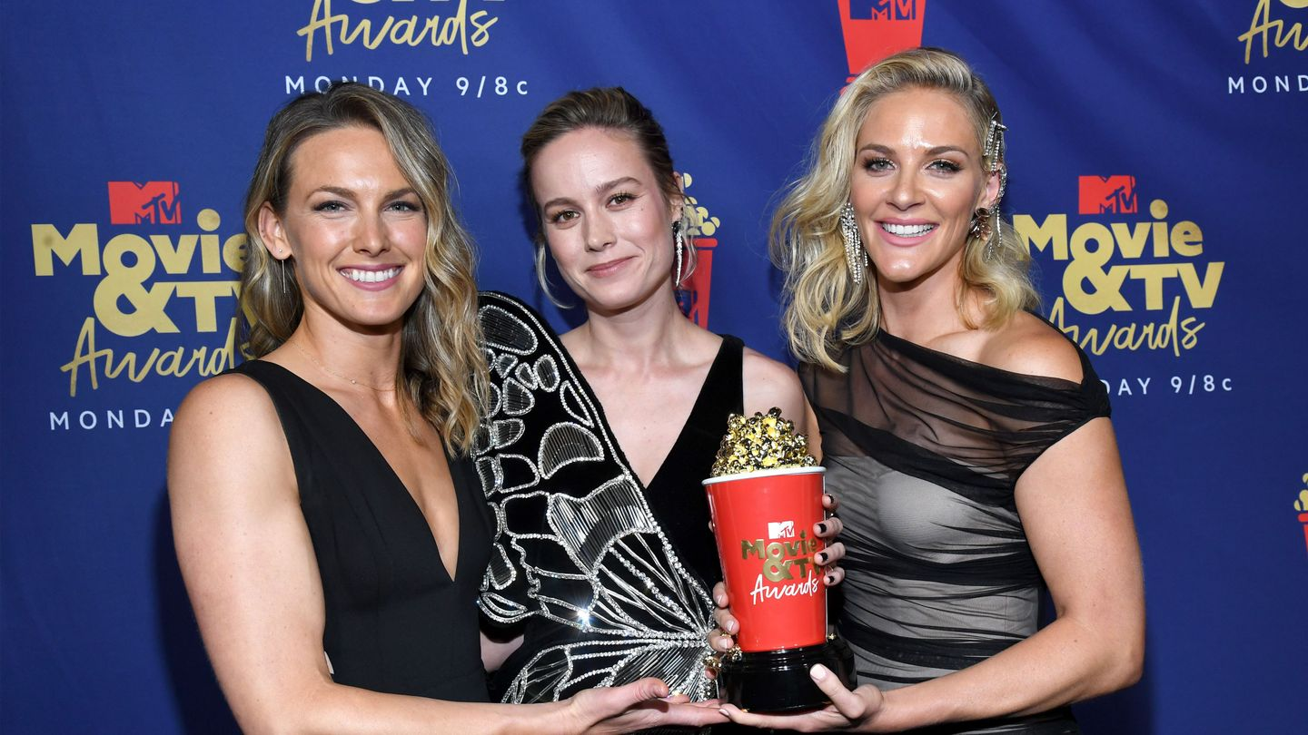 Brie Larson And Her Badass Stunt Doubles Celebrate Strong Women With Their 'Best Fight' Win