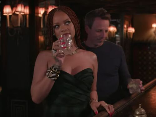 We Don't Deserve Rihanna Day Drinking With Seth Meyers