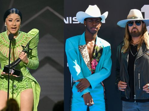 Watch Cardi B Get Down To 'Old Town Road' At The BET Awards