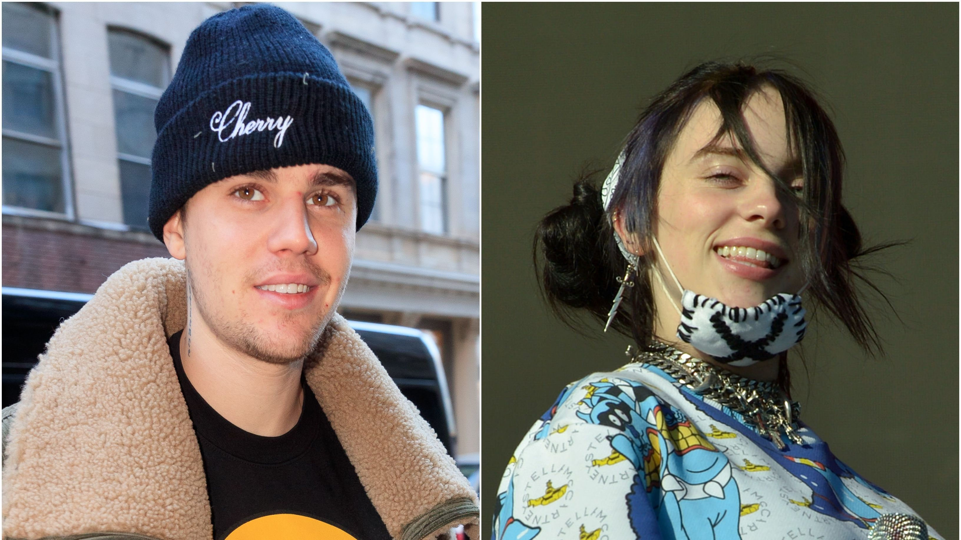 Justin Bieber May Be Joining His No  1 Fan, Billie Eilish