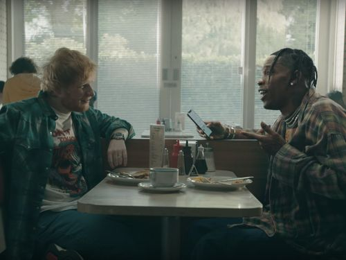 Ed Sheeran And Travis Scott's Wild 'Antisocial' Video Is Like 12 Mini-Movies In One