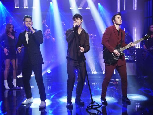 Jonas Brothers' New 'Only Human' Performance Will Make You Feel 'Drunk To An '80s Groove'