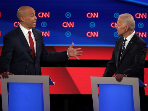 Cory Booker Told Joe Biden He 'Can't Have It Both Ways' About Obama
