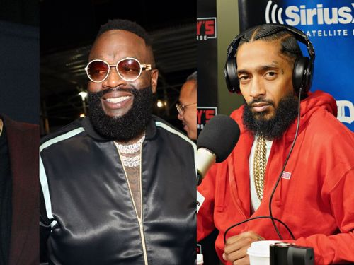 Rick Ross's Champagne-Bathing New Album Is Out With Features From Drake, Nipsey Hussle, And More