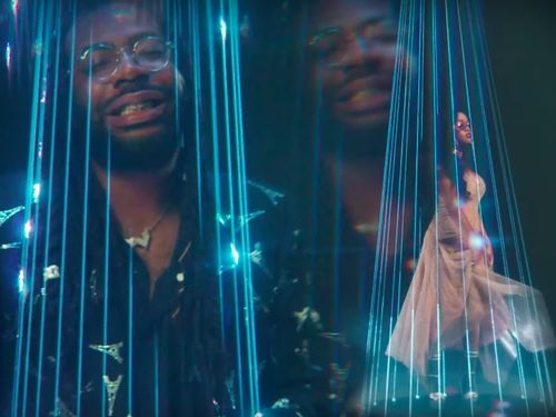 DRAM And H.E.R. Bring The 1970s To The Future In 'The Lay Down' Video