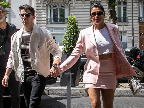 Nick Jonas And Priyanka Chopra Stepped Out For A Casual Disney Date