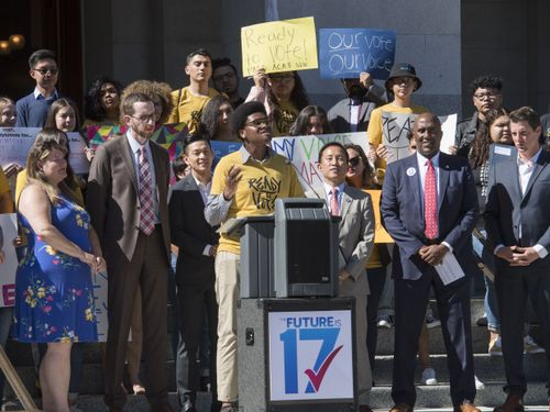 Should The Voting Age Be Lowered To 17? These California Activists Think So