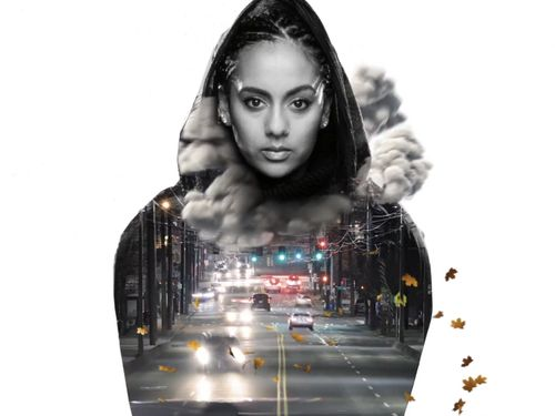 Bibi Bourelly Drives Through Herself And Grows Flowers On Her Hoodie In 'Wet'