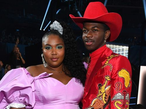 14 Dazzling Duos Who Lit Up The 2019 VMA Red Carpet