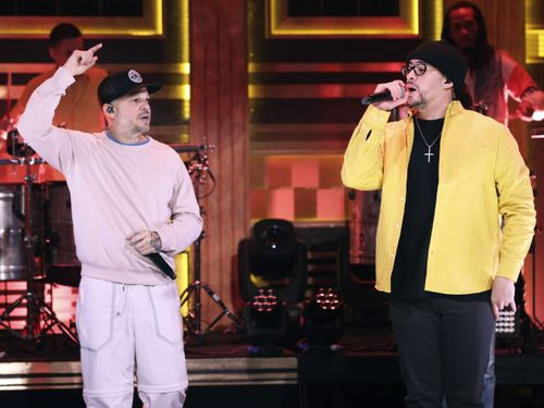 Bad Bunny And Residente Dance The Night Away In New Fallon Performance