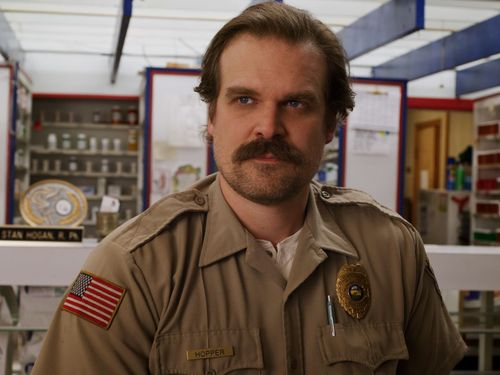 David Harbour Called Up The Duffer Brothers To See What's Up With Stranger Things' Hopper
