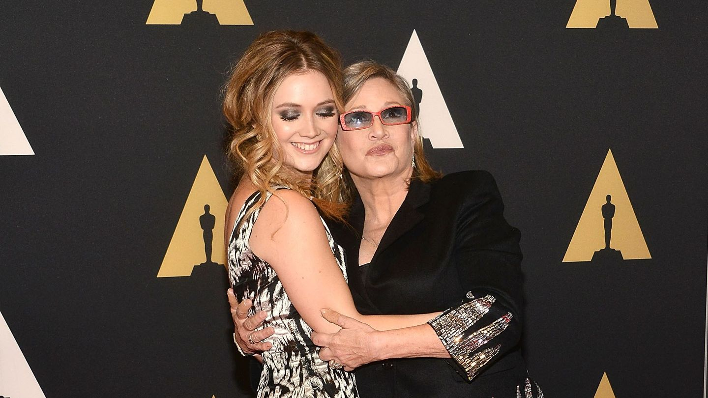 Billie Lourd Remembers Mom Carrie Fisher And 'Stepmom' Princess Leia In Heartfelt Op-Ed