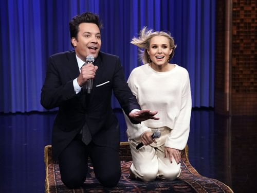 Jimmy Fallon And Kristen Bell Brought Back All Our Disney Feels With One Magical Medley