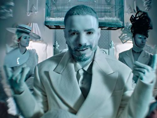 J Balvin Makes Your Definition Of Weird Hold Its Beer In 'Blanco'