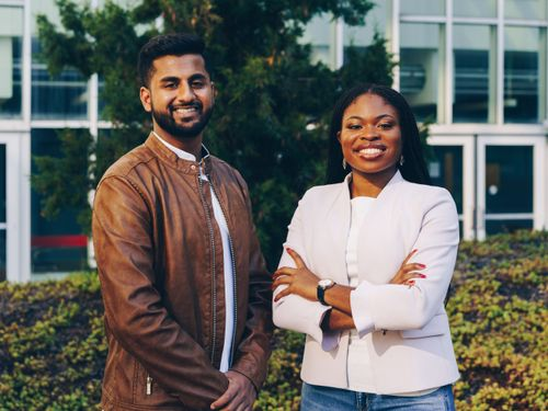 They Went Viral With A Campaign Rap — Now James Matthew And Ify White-Thorpe Have Big Plans For Harvard