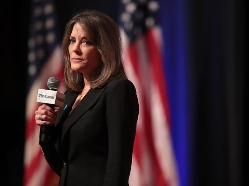 Marianne Williamson Is Selling You Something You Already Have